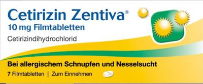 Cetirizin Zentiva 10mg