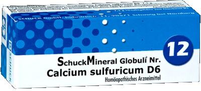 SCHUCKMINERAL Globuli 12 Calcium sulfuricum D6