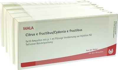 CITRUS E FRUCTIBUS/Cydonia e fructibus Ampullen