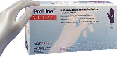 PROLINE Vinyl Unt.Handschuhe XL