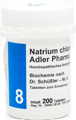 BIOCHEMIE Adler 8 Natrium chloratum D 6 Tabletten