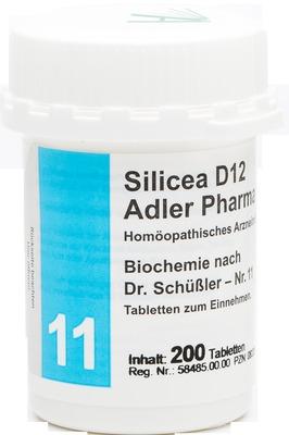 BIOCHEMIE Adler 11 Silicea D 12 Tabletten