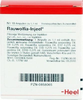 RAUWOLFIA INJEEL Ampullen
