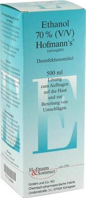ETHANOL 70% V/V Hofmann's
