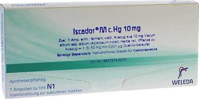 ISCADOR M c.Hg 10 mg Injektionslösung