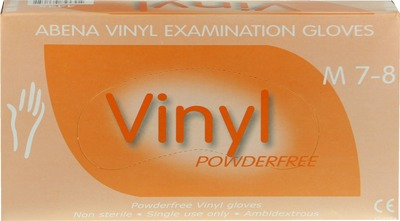 VINYL Handschuhe puderfrei medium