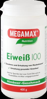 EIWEISS 100 Himbeer Quark Megamax Pulver