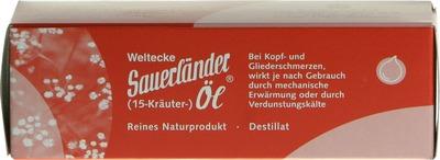 SAUERLÄNDER 15 Kräuter Öl