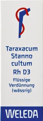 TARAXACUM STANNO cultum RH D 3 Dilution