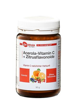 Vitamin C+BIOFLAVONOIDE Dr.wolz Pulver