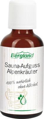 SAUNA AUFGUSS Konzentrat Alpenkräuter