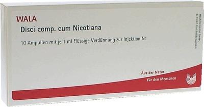 DISCI comp.cum Nicotiana Ampullen