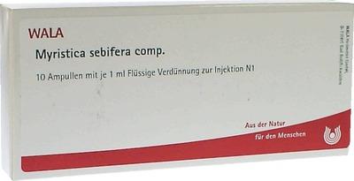 MYRISTICA SEBIFERA COMP.Ampullen