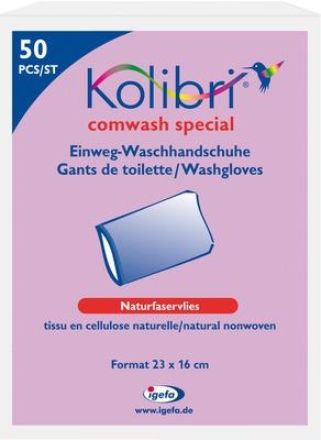 KOLIBRI comwash special Waschhandsch.16x24cm weiß