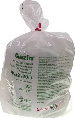 GAZIN Verbandmull 10 cmx40 m 8fach