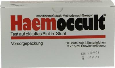 HAEMOCCULT Test Vorsorgepackung