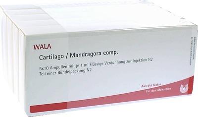 CARTILAGO/Mandragora comp.Ampullen