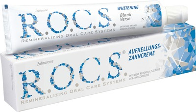 Prodent Dentalbedarf GmbH ROCS Erwachsene Zahnweiße Zahnpasta 02087100