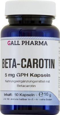 BETA CAROTIN 5 mg Kapseln