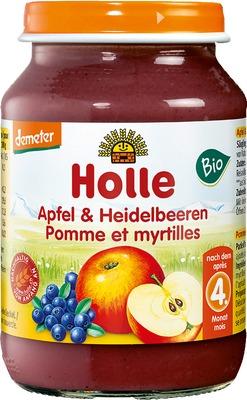 HOLLE Apfel & Heidelbeere