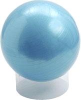 GYMNASTIKBALL Rehaforum 65 cm blau metallic