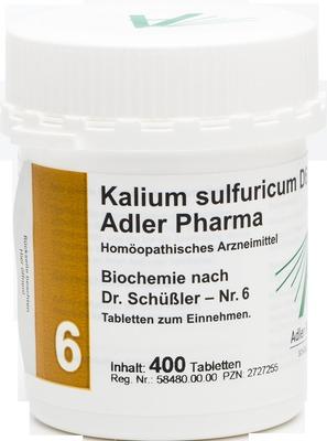 BIOCHEMIE Adler 6 Kalium sulfuricum D 6 Tabletten