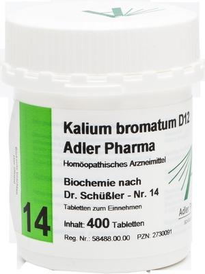 BIOCHEMIE Adler 14 Kalium bromatum D 12 Tabletten