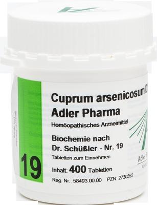 BIOCHEMIE Adler 19 Cuprum arsenicosum D 12 Tabletten