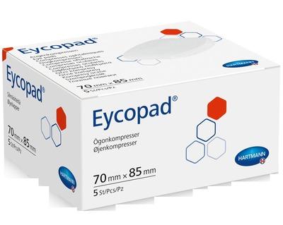 EYCOPAD Augenkompressen 70x85 mm unsteril