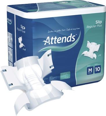 ATTENDS Slip Regular Plus 10 medium
