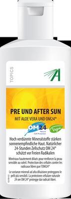 MINERALSTOFF Pre u.After Sun mit Aloe Vera Gel