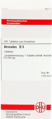 AESCULUS D 3 Tabletten