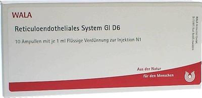 RETICULOENDOTHELIALES SYS. GL D 6 Ampullen