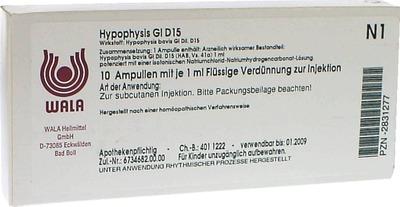 HYPOPHYSIS GL D 15 Ampullen