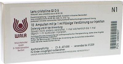 LENS CRISTALLINA GL D 5 Ampullen
