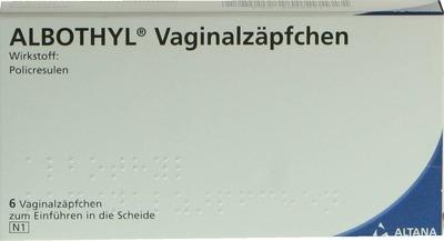 Albothyl Vaginalzäpfchen 90mg