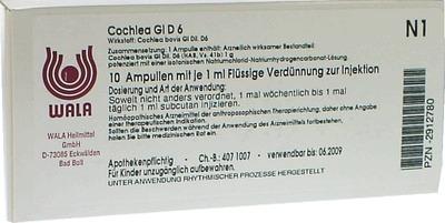 COCHLEA GL D 6 Ampullen