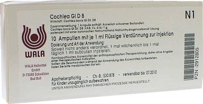 COCHLEA GL D 8 Ampullen