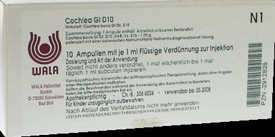 COCHLEA GL D 10 Ampullen