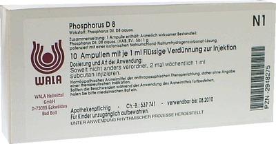 PHOSPHORUS D 8 Ampullen