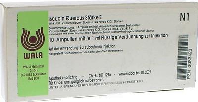 ISCUCIN quercus Stärke E Ampullen