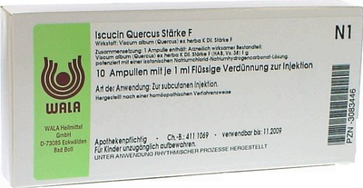 ISCUCIN quercus Stärke F Ampullen