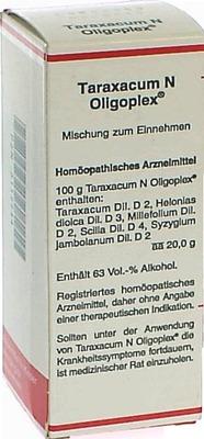 TARAXACUM N Oligoplex Liquidum