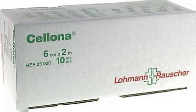 CELLONA Gipsbinden 6 cmx2 m