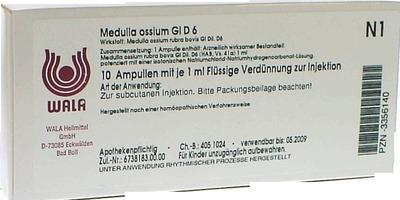 MEDULLA OSSIUM GL D 6 Ampullen