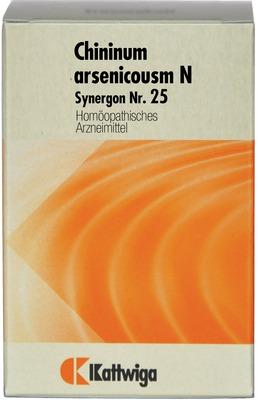 SYNERGON KOMPLEX 25 Chininum arsenicosum N Tabl.