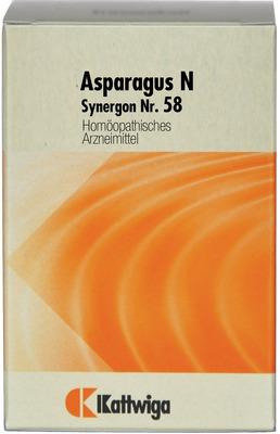 SYNERGON KOMPLEX 58 Asparagus N Tabletten