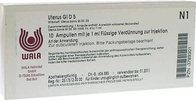 UTERUS GL D 5 Ampullen