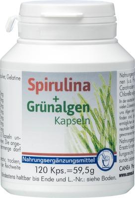 SPIRULINA+GRÜNALGEN Kapseln
