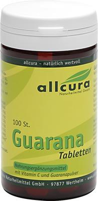 GUARANA TABLETTEN 200 mg Extraktpulver